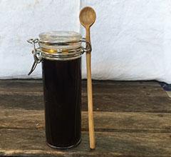 黒糖のシロップ
